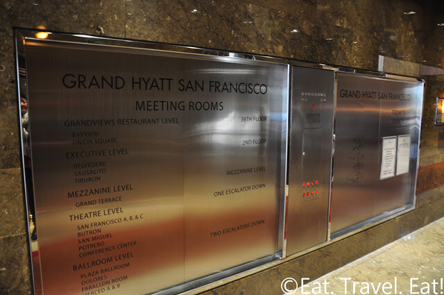 Grand Hyatt San Francisco: Signs