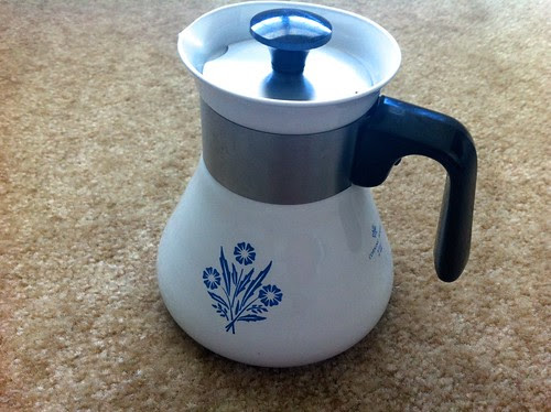CorningWare Coffee Pot