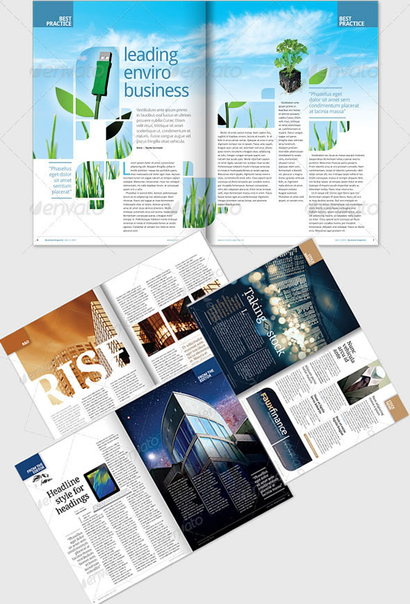 25+ Best Looking For Creative Layout Design Magazine