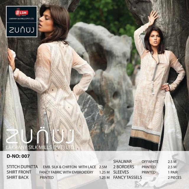 Beautiful-Cute-Girls-Models-Wear-Summer-Eid-Dress-Collection-2013-Lakhani-Silk-Mills-21