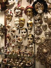 Venetian Masks by PlasticSquid
