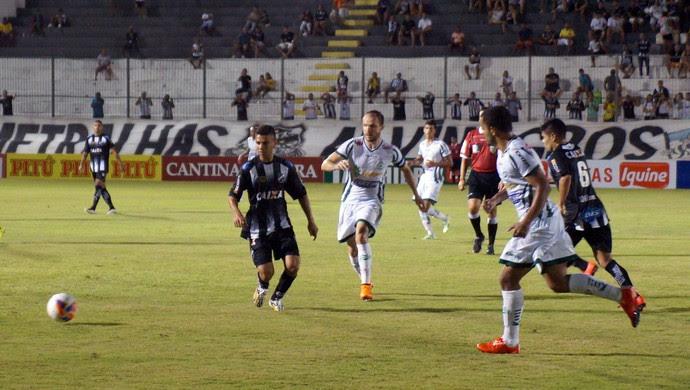 ABC x Luverdense, no Frasqueirão - Erivélton (Foto: Augusto Gomes/GloboEsporte.com)