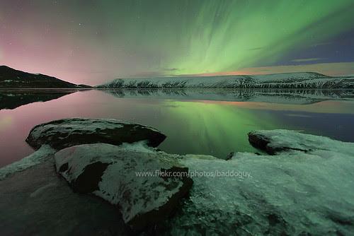 Iceland's Aurora Borealis.
