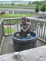 Nova Scotia wood sculpture
