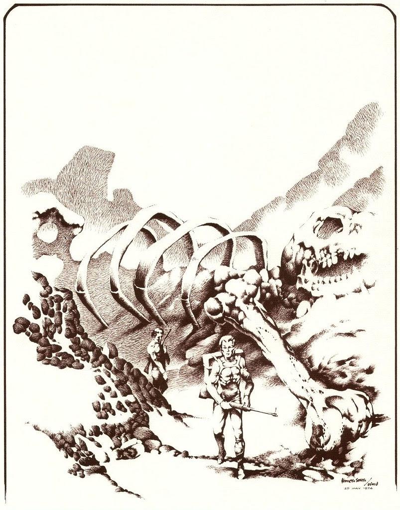 Kenneth Smith (based on Wally Wood Sketch) 1974