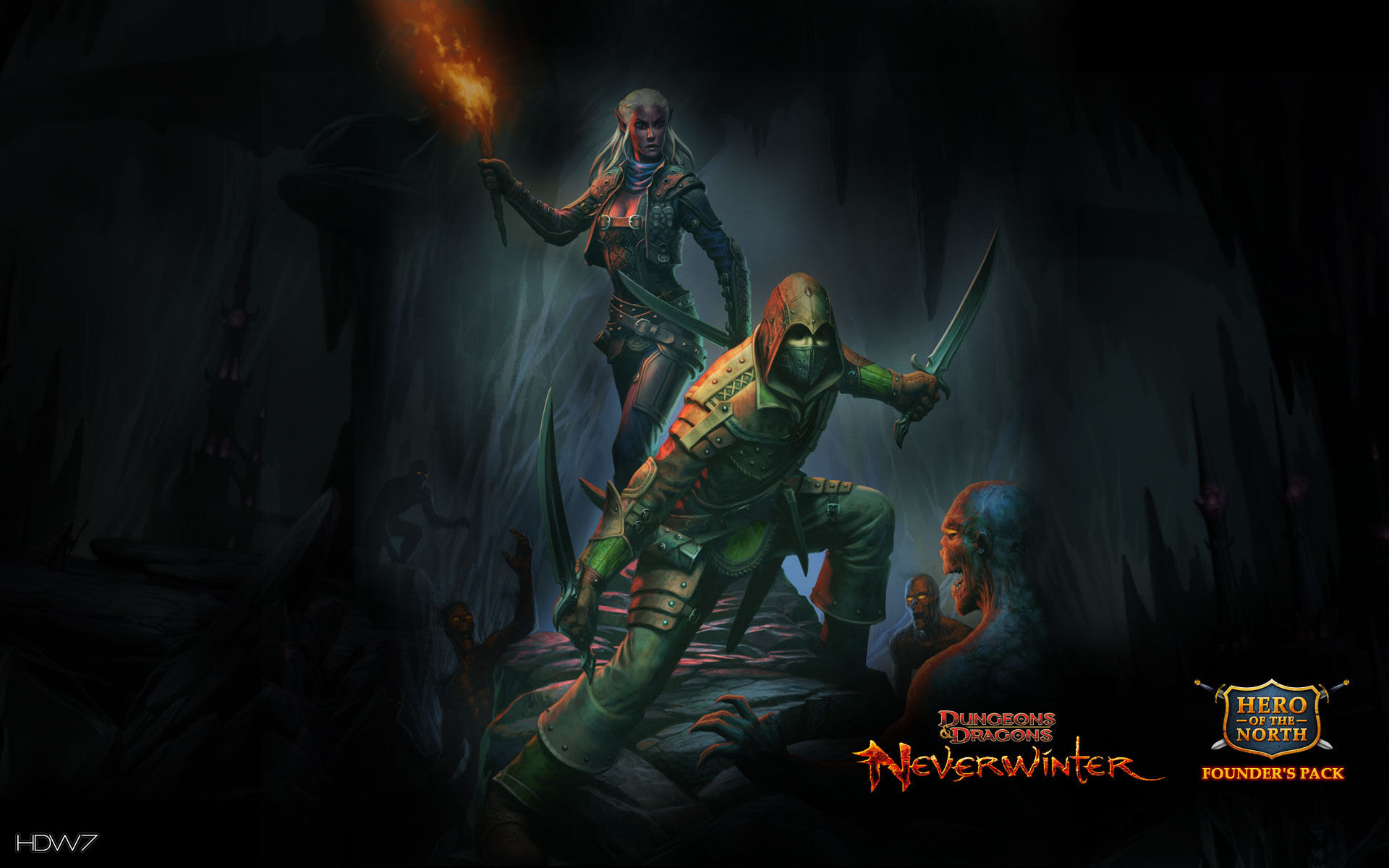 Dungeons And Dragons Neverwinter Deadly Trickster Rogue Widescreen