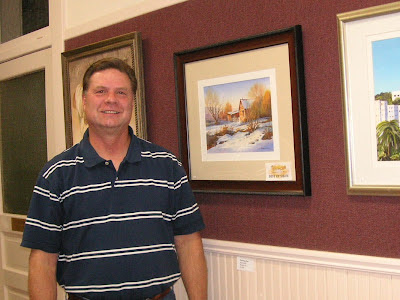 Roland Lee receives Best of Show Award at Visual Arts Association Fall Exhibit