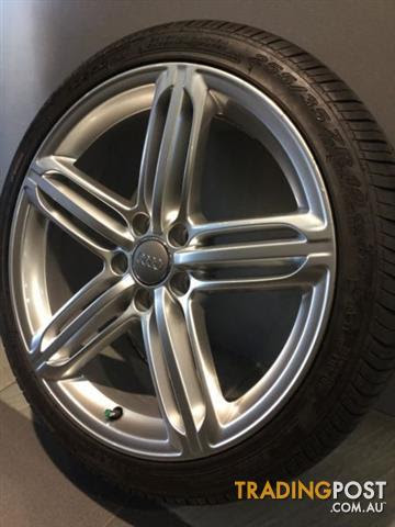 Audi Rs6 19inch Genuine Alloy Wheels Tyres