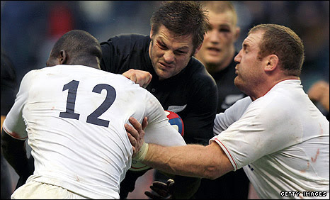 England lost 19-6 to New Zealand