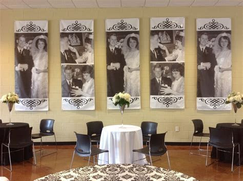 50th anniversary party. Banners   50th Anniversary Party