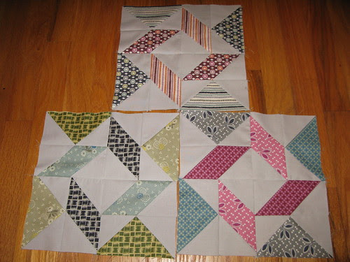 Windblown Squares