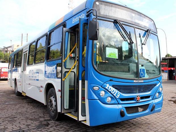 Novos ônibus da frota de Salvador já estão na capital baiana. (Foto: Gabriel Lima/ Agecom )