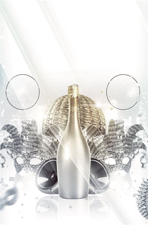 Champagne Passion Poster Background, Champagne, Passionate