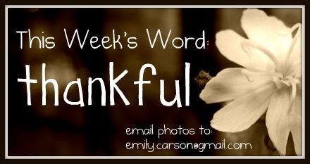 This week, Thankful
