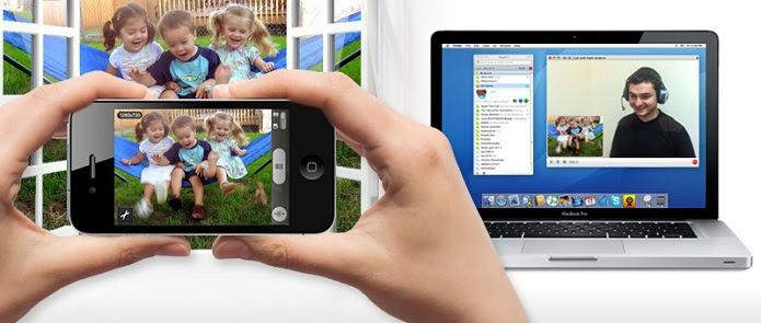 Mobiola transforma seu smartphone em uma webcam para o PC (Foto: Divulgação)