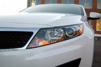 2011 Kia Optima EX headlight