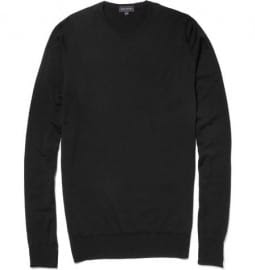 John Smedley Hunter Round Neck Wool Sweater