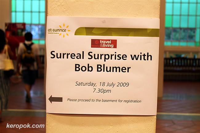 Bob Blumer Cooking Workshop