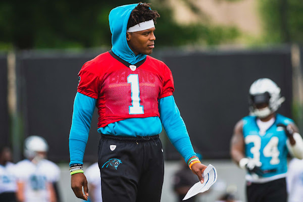 4e9286d837c Cam Newton not throwing at start of OTAs