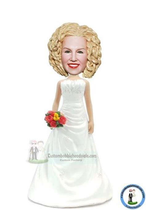 Cheap Custom Personalized Bridesmaid Bobblehead