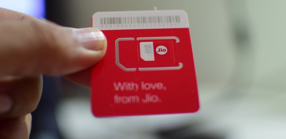 Jio Red Sim Card