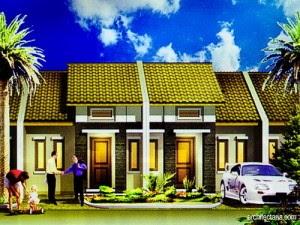 desain rumah minimalis 2 kamar zig zag
