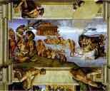 Michelangelo. The Flood.