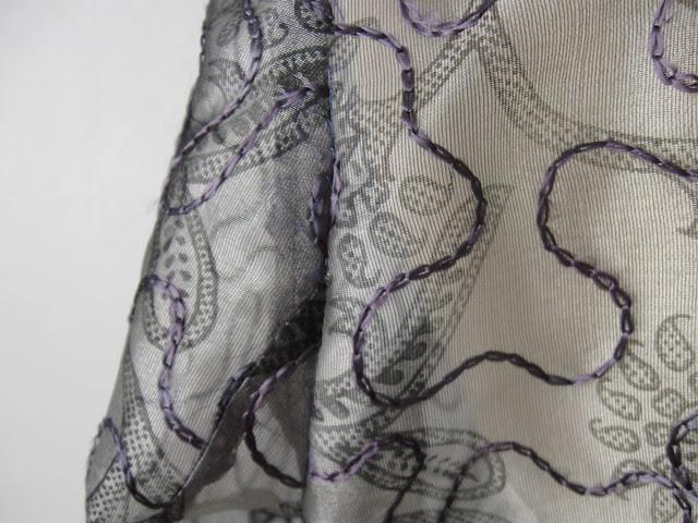 silk very close up