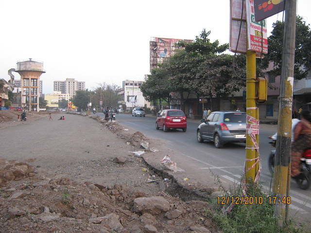 Widening of Wakad Hinjewadi Road