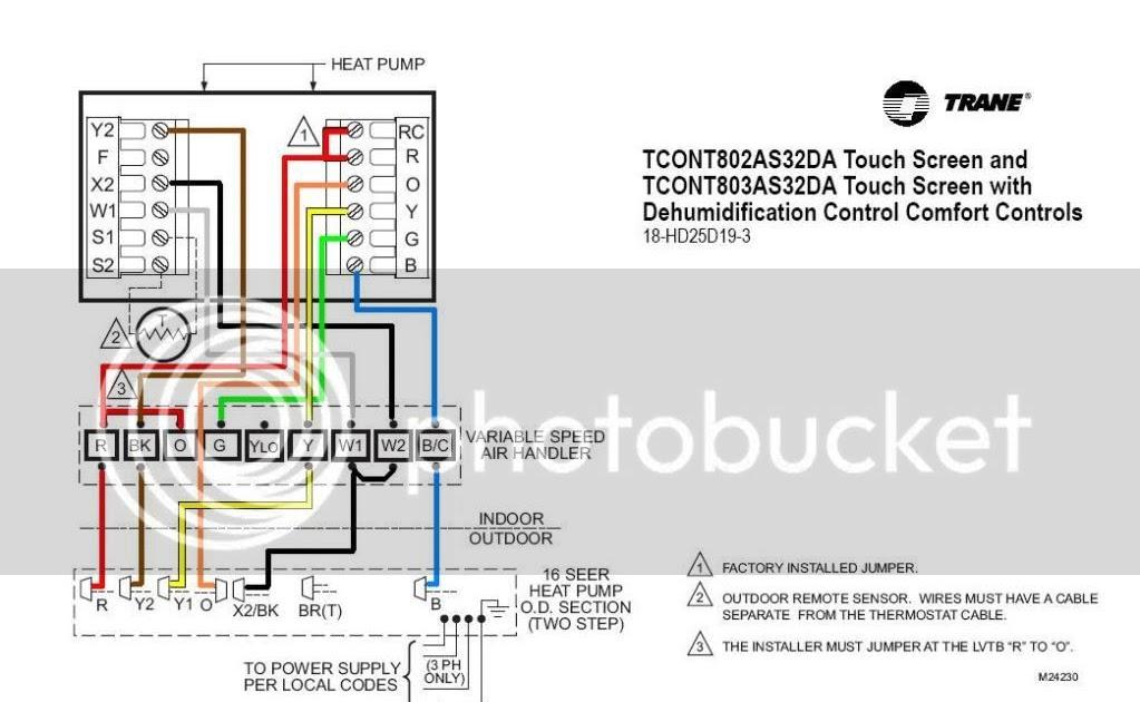 Wiring Diagram  30 Trane Wiring Diagram Heat Pump