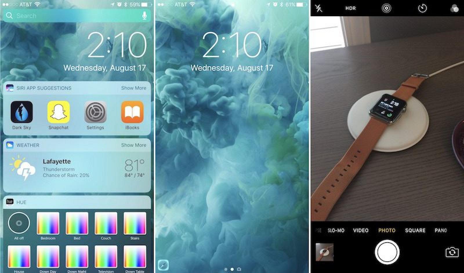 How to Use iOS 10's Redesigned Lock Screen - Mac Rumors
