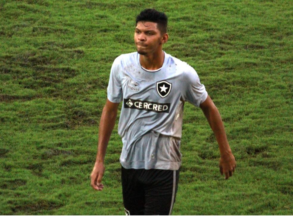 Igor Cássio foi o artilheiro do Botafogo na Copinha com quatro gols (Foto: Sergio Pais)