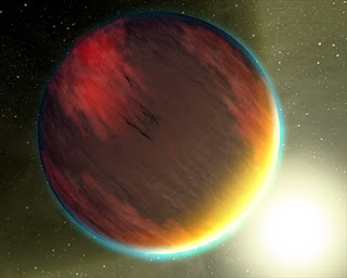 Spitzer examina la luz de dos exoplanetas