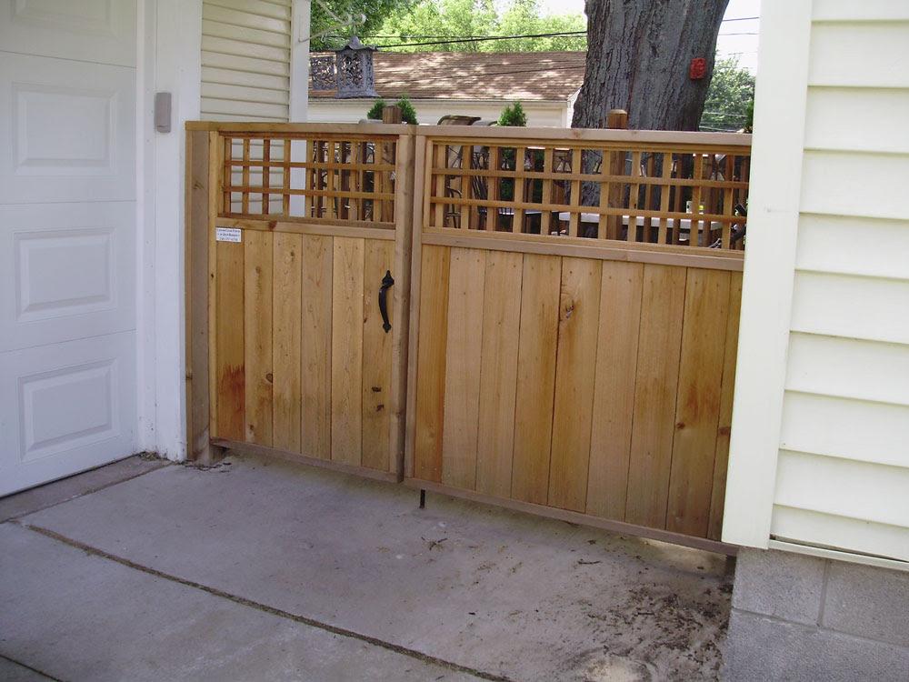 Custom Cedar Fences Southeast Mich High Quality Builder Of Cedar