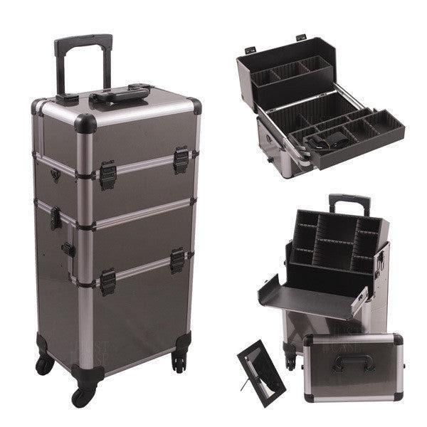 Just Case Hiker Pro 4 Wheel Makeup Case Hk6501 Camera Ready
