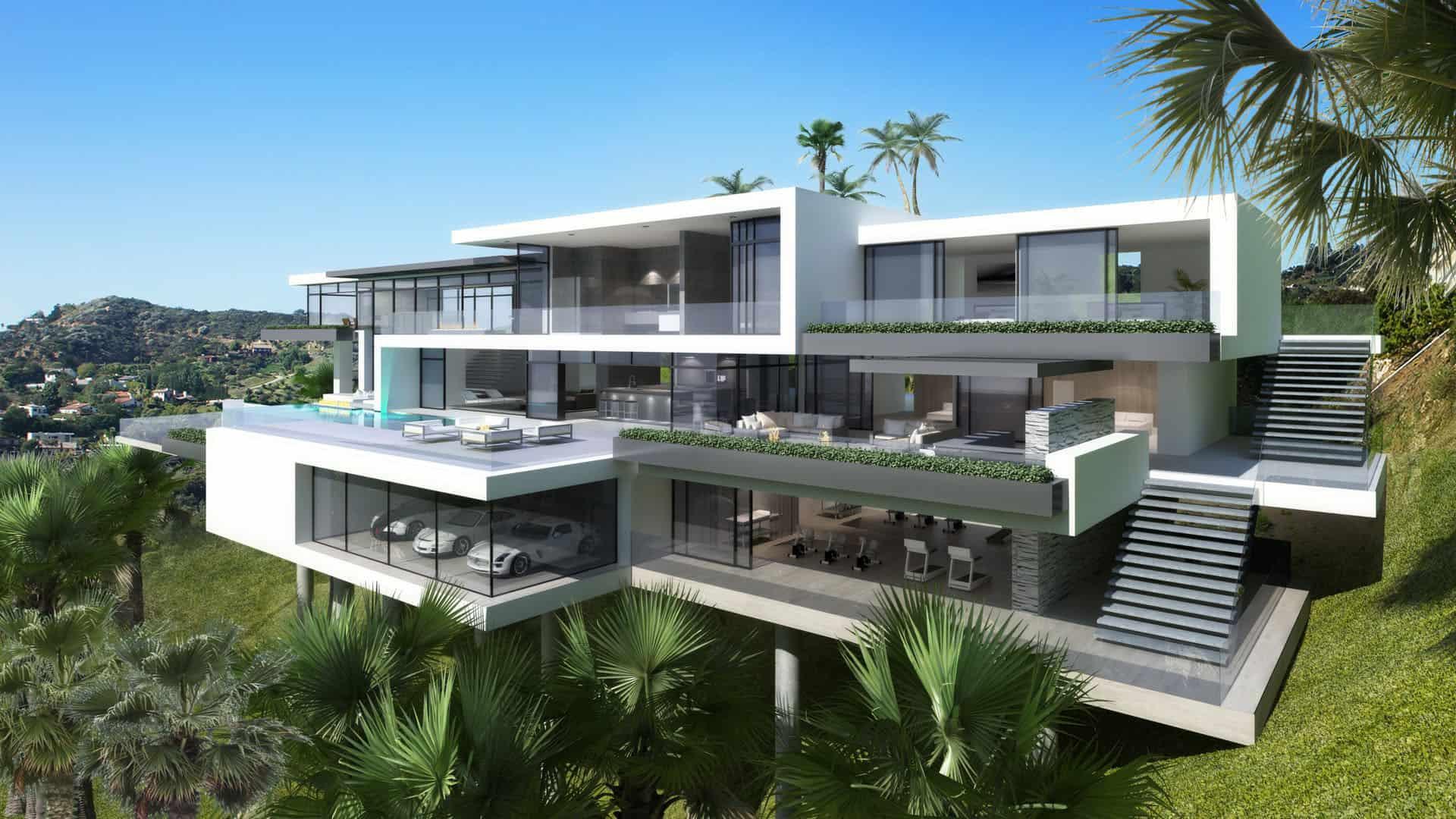 Modern Mansion on Sunset Plaza Drive 03
