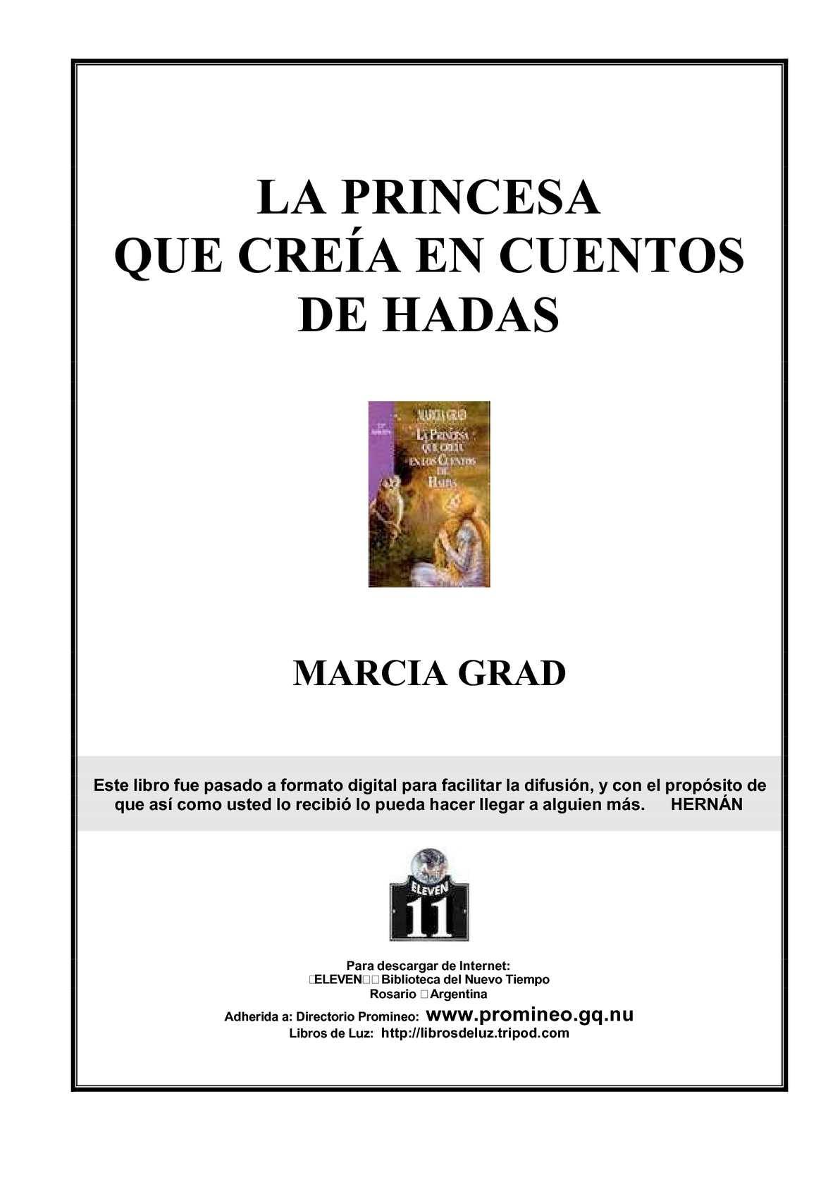 Calameo La Princesa Que Crea A En Cuentos De Hadas Marcia Grad