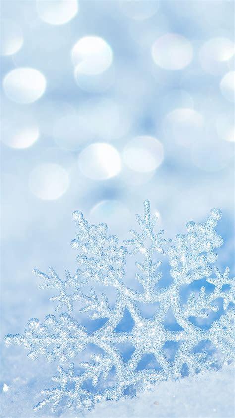 winter snowflake iphone   wallpaper wallpapers