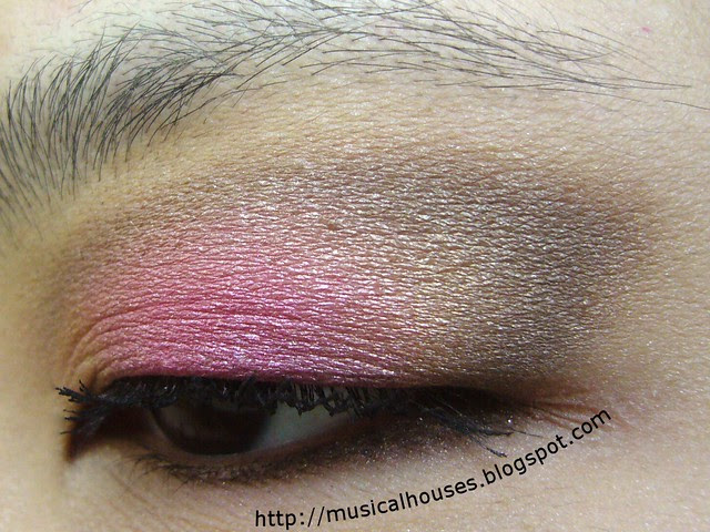 spring bright nude eye look 3