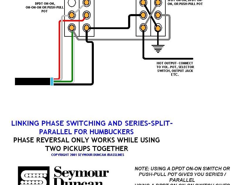 Single Humbucker Wiring Diagram