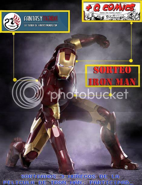 Sorteo Iron Man