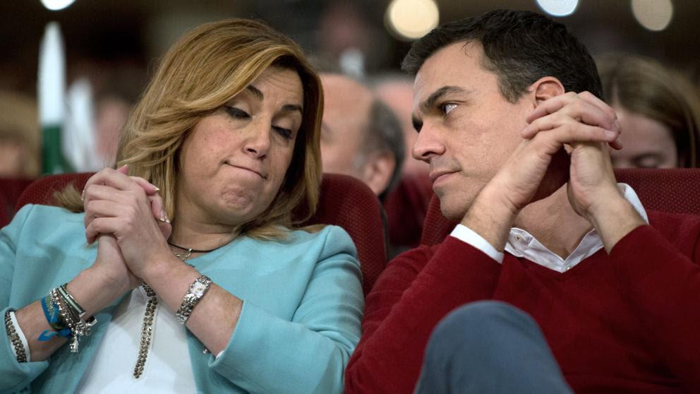 Susana Díaz recuerda a Pedro Sánchez que la política de pactos la decide el Comité Federal