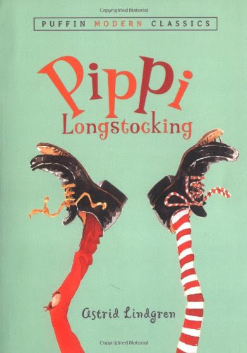 Pippi Longstocking, part of list of chapter books for preschoolers