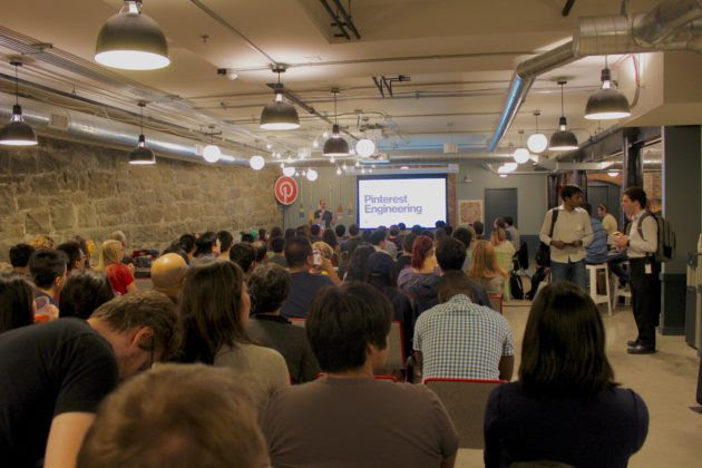 Pinterest held its recruiting event on Thursday at the WeWork building in downtown Seattle.