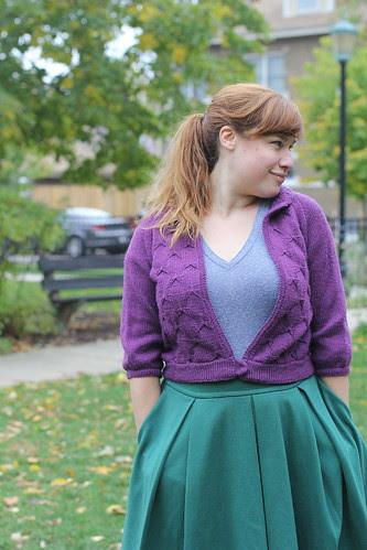 Julep Jacket Knitting Pattern by Katie Canavan