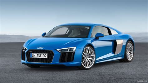 2016 Audi R8 V10 (Ara Blue)   Front   HD Wallpaper #10 1920x1080