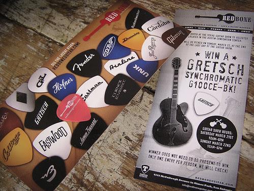 Redbone Guitar SXSW Gretsch Giveaway