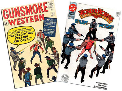 Gunsmoke Western #69 & Wonder Woman #56