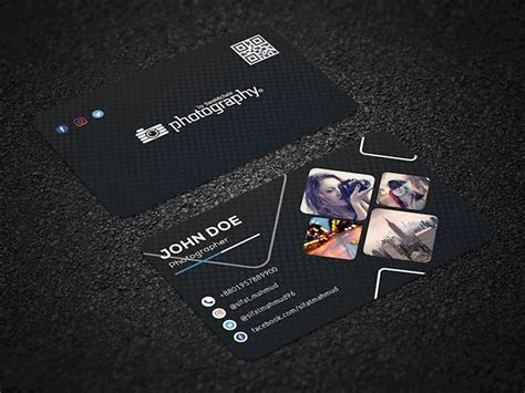 20 Creative Examples of Photography Business Card Designs