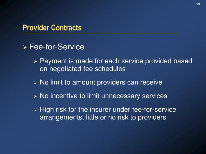 PPT - Managed Health Care Pricing for Provider ...